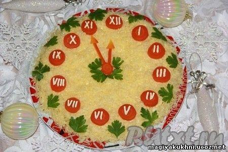 Пошаговые фото рецепты салатов на новый год